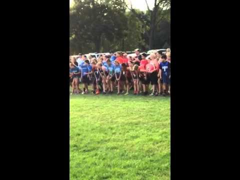 Caleb start cross country oaklawn academy