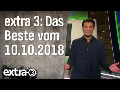 Extra 3 Spezial: Das Beste (der vergangenen Monate) vom 10.10.2018 | extra 3 | NDR