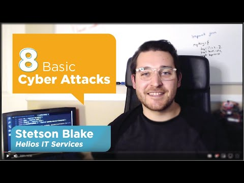 8 Basic Cyber Attacks … and How to Avoid Them