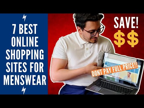 7 Best Online Shopping Sites For Men's Clothing 2020 |  J Crew H&M Nordstrom And More