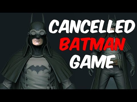 The Story of the Cancelled Steampunk Batman Game