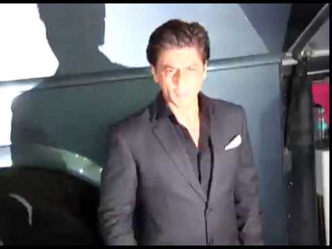Shah Rukh khan at Red Carpet of International Cultural Dance Festival By Hema Malini at Mumbai