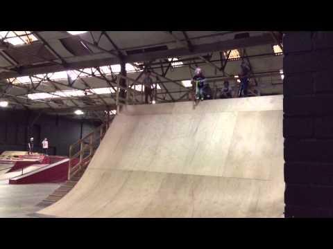 Rampworx foam pit, Fraser 6.