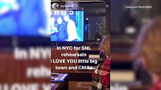 Taylor Swift wins CMA Song of the Year but she's in NY for SNL