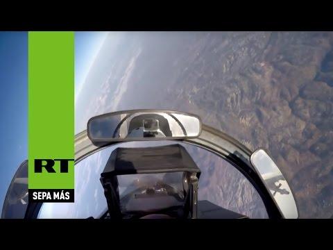Bombarderos rusos atacan al EI en Siria despegando desde Irán y Rusia