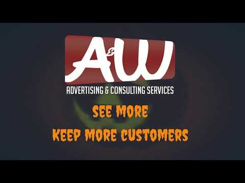 A&W Advertising & Consulting Services Halloween Facebook video post