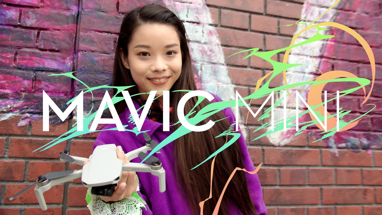 DJI - Mavic Mini - 日本オリジナルコンテンツ「楽しい!! はじめての空飛ぶカメラ」