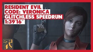 "Resident Evil: CODE: Veronica X - Glitchless Speedrun - 01:39'16"" [World Record]"