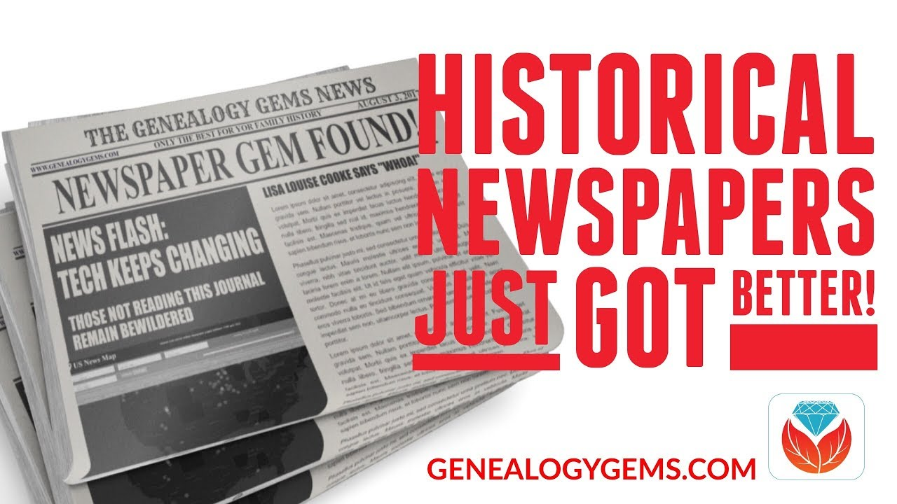 historical research newspaper
