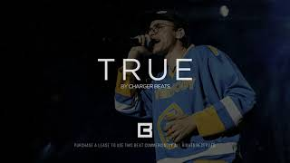 "Trap, Hip Hop Beat | Logic type beat ""True"" 2019, Rap instrumental"