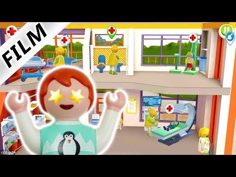 Playmobil KINDERKLINIK Spiel Deutsch | EMMA ALS ÄRZTIN - Notfälle Verarzten | Familie Vogel