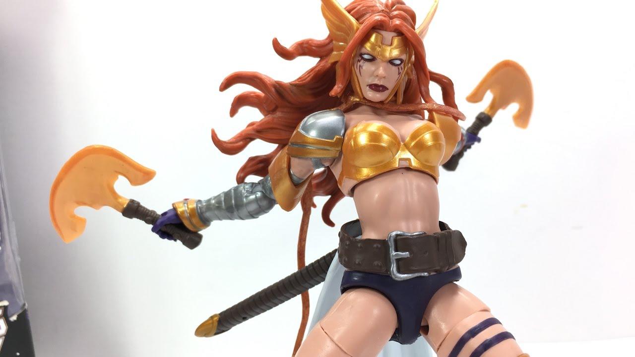 Angela 6 Marvel Legends Guardians of the Galaxy Vol 2 Titus BAF