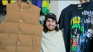 TRIP TO BUFFALO EXCHANGE #3: FOUND $400 APC x CARHARTT & SAMPLE HAT!!