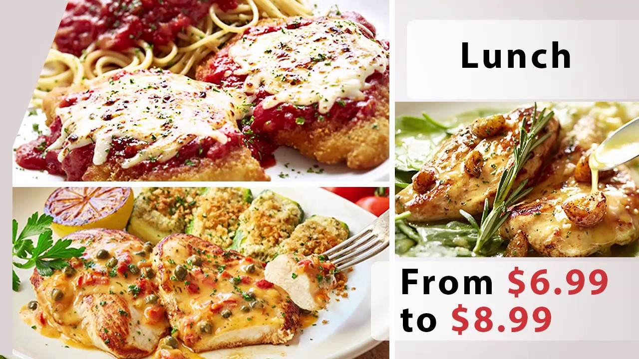 Menu For Olive Garden: Olive Garden Menu Prices