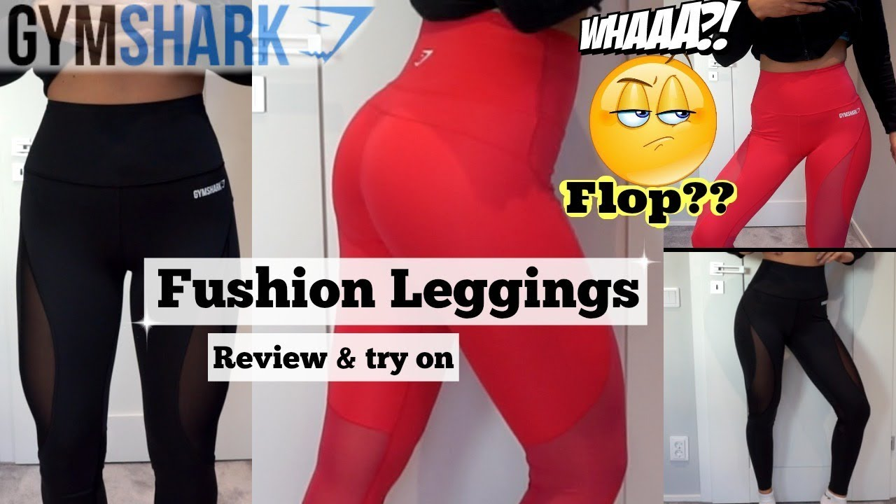 fd41db71acef6 Gymshark New FUSION leggings - Review, Try on & Honest Opinions ...