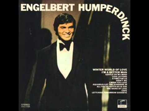 "Engelbert Humperdinck: ""I Wish You Love"""