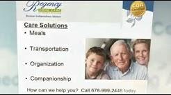 Atlanta senior home health care by Regency Home Care