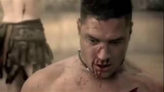 Crixus & Naevia {Stars} Spartacus: Blood and Sand