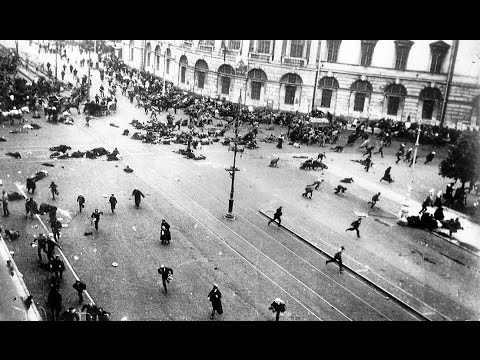 Восстание в Петрограде. Расстрел демонстрации 1917 / The July Days. The shooting of demonstrators