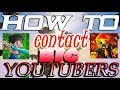 How to contact Youtubers | PrestonPlayz | Vikkstar & MORE!