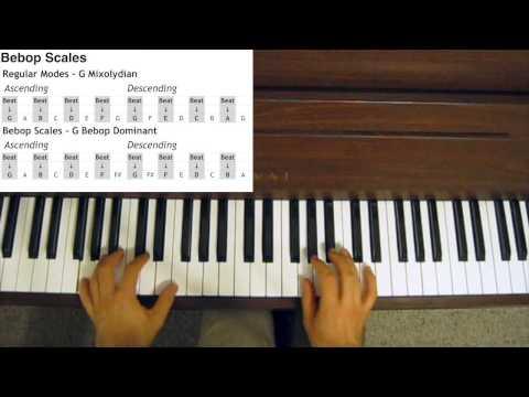 Jazz Scales - Bebop Scales
