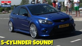 Ford Focus RS/ST 5-Cylinder Turbo SOUND Compilation!