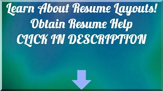 Get Resume Template Free - Download Resume Builder Here!