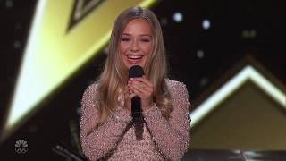 America's Got Talent The Champions 2020 Connie Talbot Full Performance And Judges Comments Week 4 S2