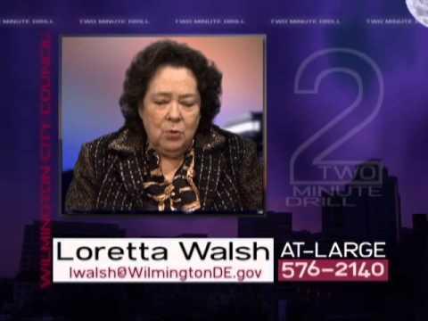 Two Minute Drill  Loretta Walsh  November 7, 2013