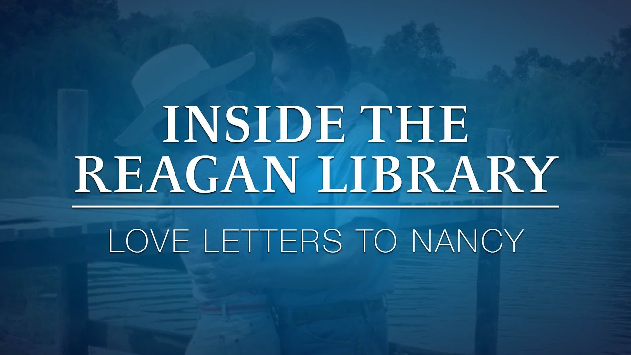 inside the reagan library love letters