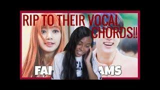 KPOP IDOLS vs FAN'S SCREAMS #1 - BTS EXO BLACKPINK TWICE GOT7 ETC