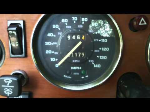 1974 TR6 Dash