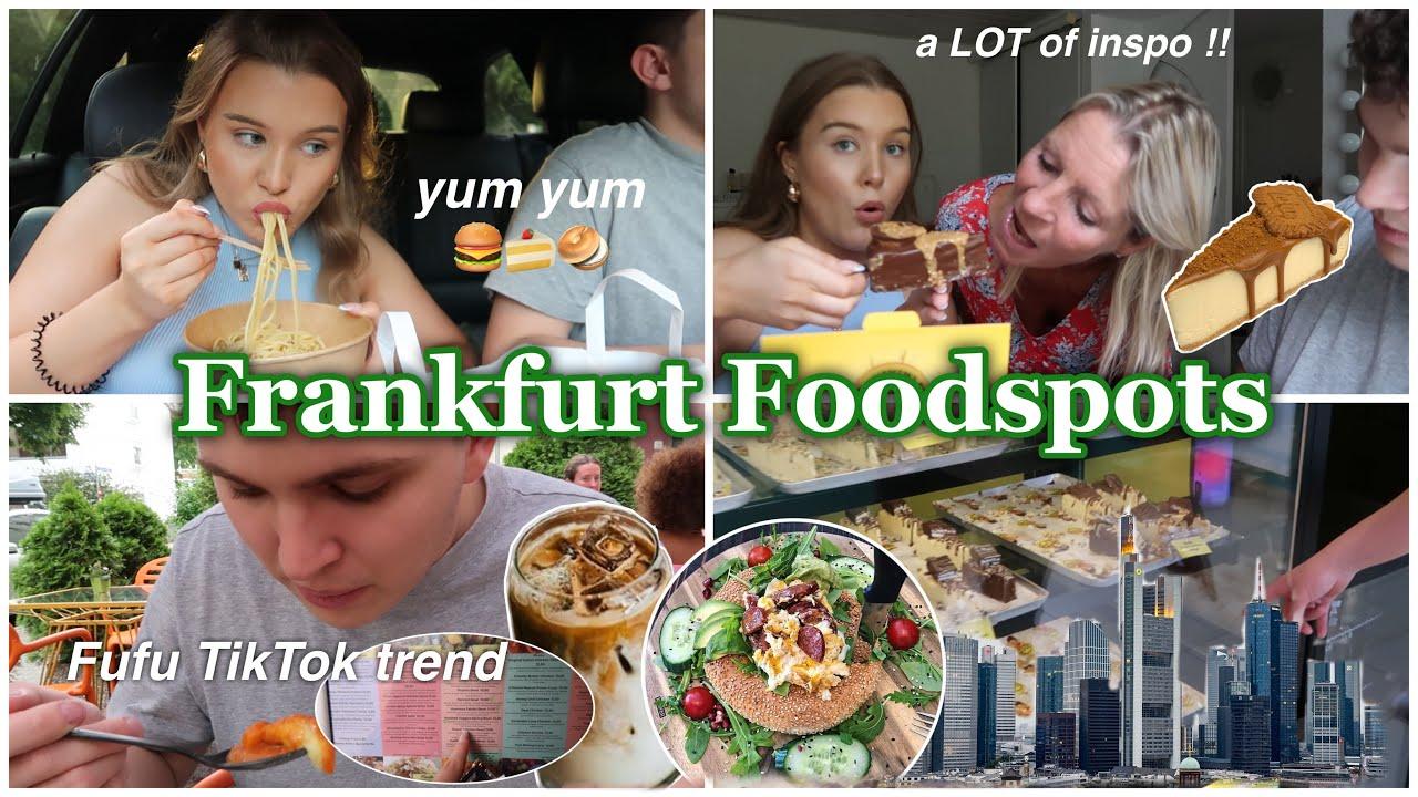 Wir testen die favorite Frankfurt Food Hotspots meiner Follower: Café Buur, Fufu Trend, Cheesecake..