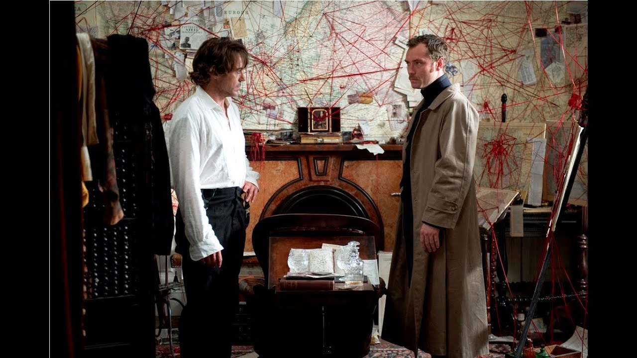 Sherlock Holmes 2 Skyggespillet - Trailer 2 (DK)