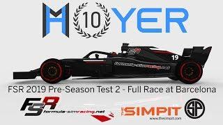 rFactor 2 | F1 2018 - Bahrain Test Laps - Vettel Onboard video