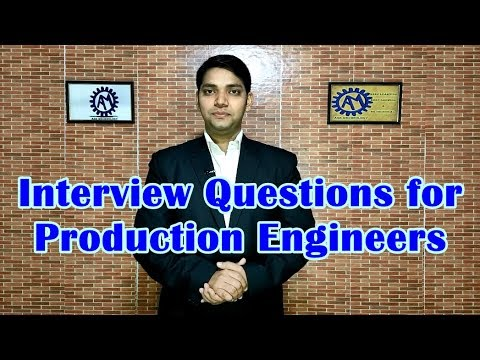 Interview Questions for Production Engineers ! FQA for Production Department !! ASK Mechnology !!!