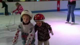 DEUBLERS KIDS 2 ICE SHOW1.MOV Erik 2 y.o  Alex 5 y.o