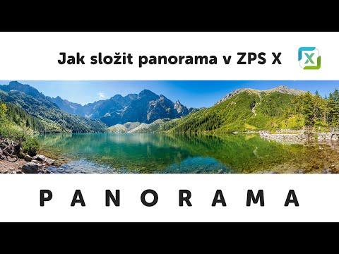 Jak na složení PANORAMA v ZPS X