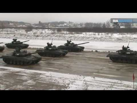 Russia Russian Army Military Victory Day Parade 9 May 2012 Moscow Rehearsal  Video RIA Novosti.mp4
