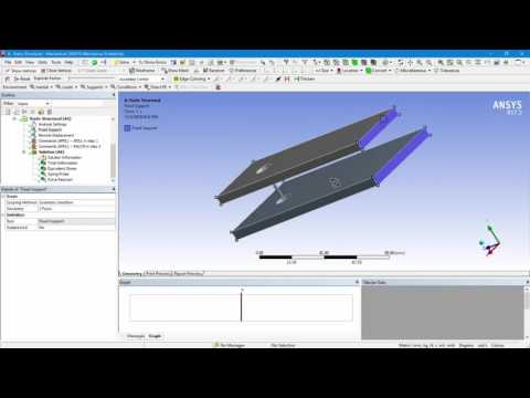 How to Work With Element Birth & Death Using ANSYS Workbench Mechanical