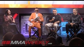 UFC 245 Athlete Panel: Colby Covington, Volkanovski & Germaine de Randamie (FULL)