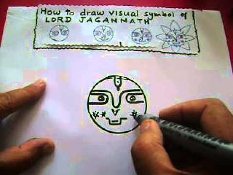 Lord Jagannath: How to draw His visual symbol