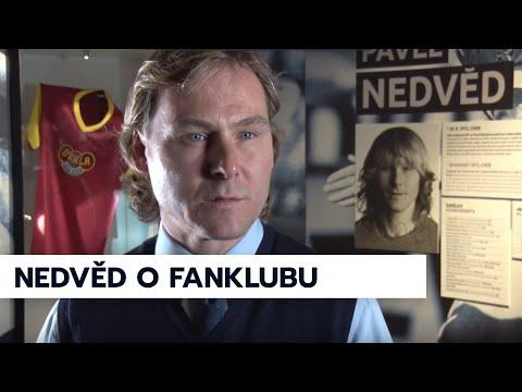 Pavel Nedvěd podporuje Fanklub české reprezentace