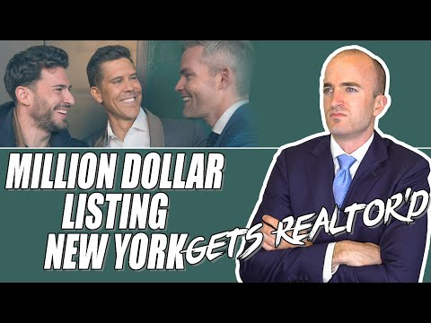 Actual Real Estate Agent Reacts To Million Dollar Listing New York