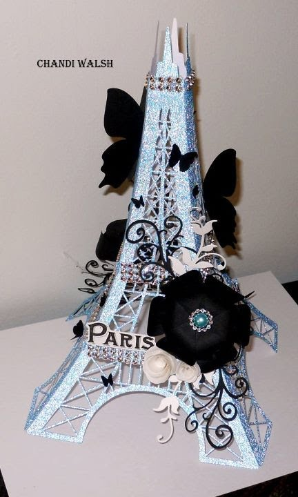 3d Eiffel Tower Youtube