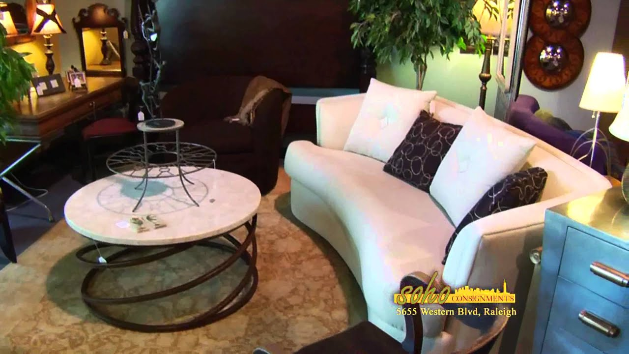Raleigh Furniture Store Soho Consignments 919 851 6969 Youtube