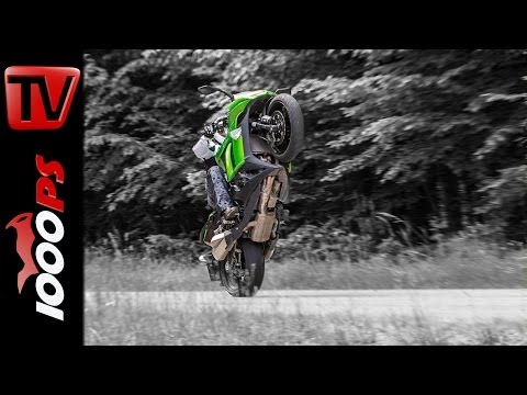 Kawasaki Z1000SX - Test | 5 Meinungen - 1 Bike | Stunts, Action, Sound