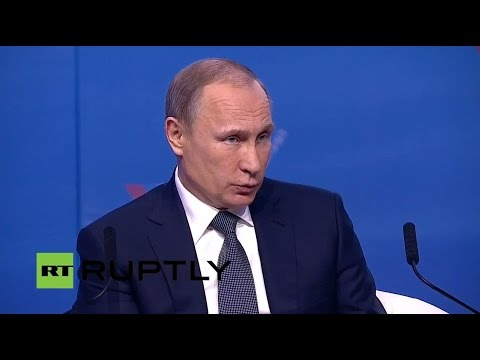 LIVE: Putin to attend All Russia People's Forum