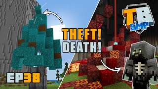 Theft, Death and a Minecraft Halloween! | Truly Bedrock Season 2 [38] Minecraft Bedrock SMP