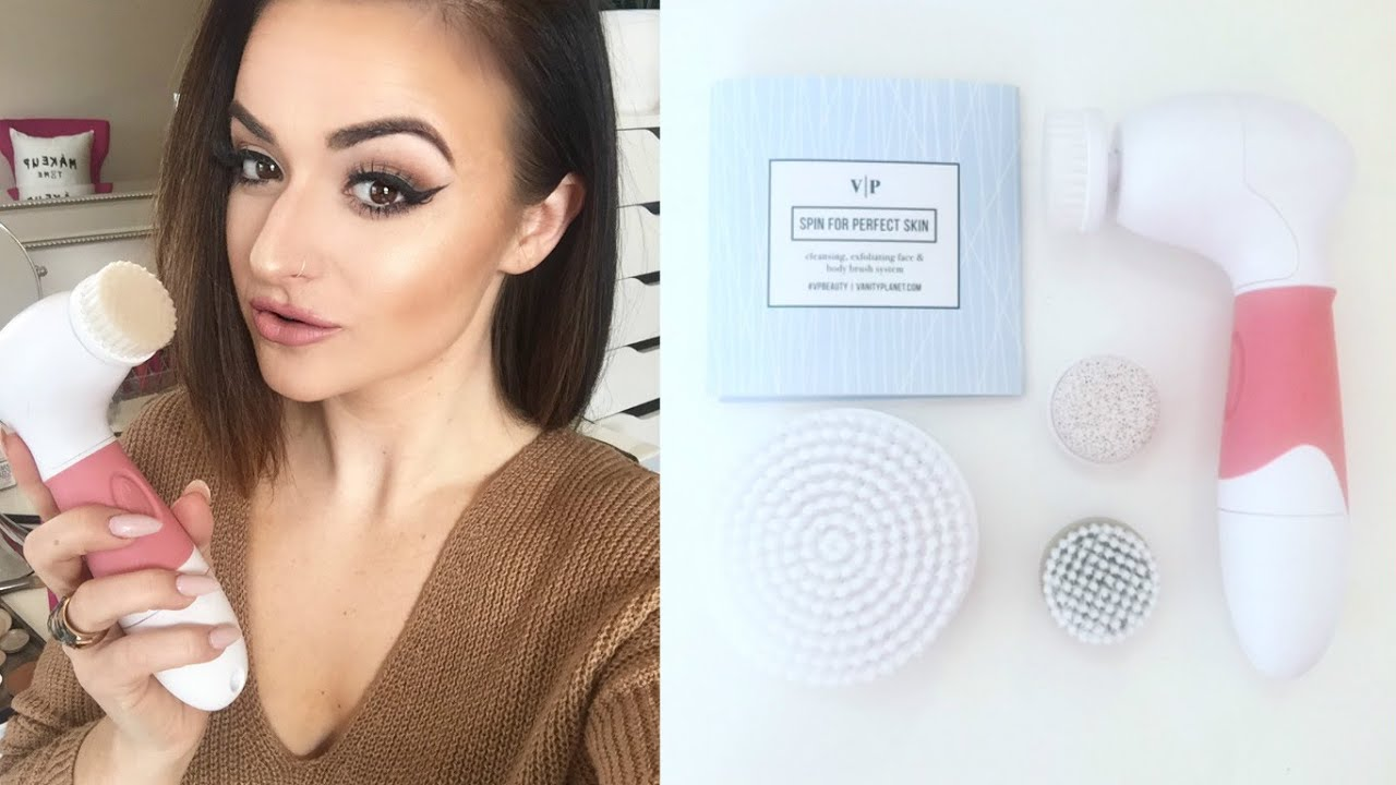 Vp Spin For Perfect Skin Facial Brush Demo Amp Review